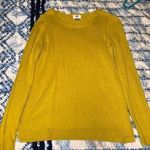 Yellow/Orange Sweatshirt/ long sleeve shirt